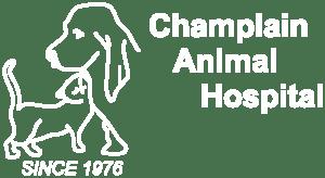 Logo of Champlain Animal Hospital in Peterborough, Ontario